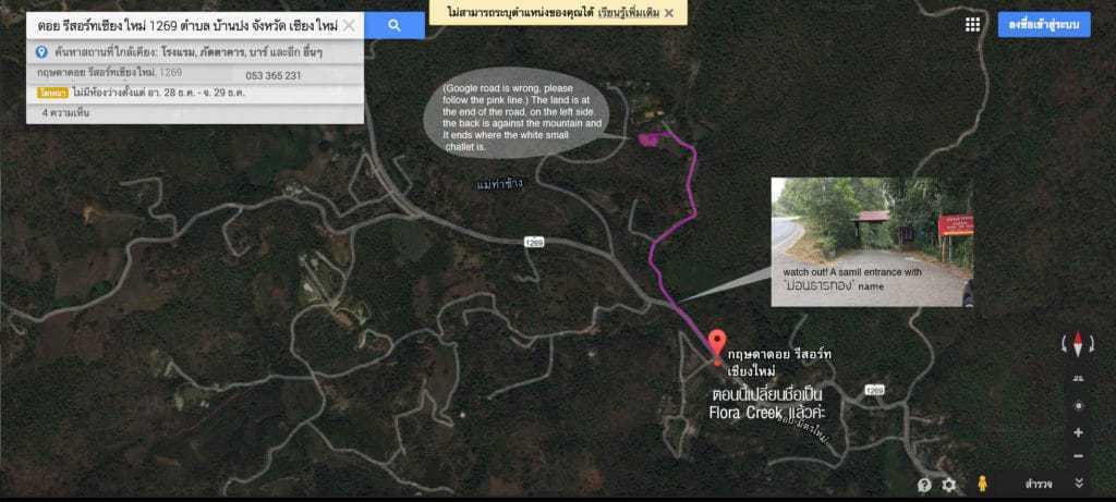Route description
